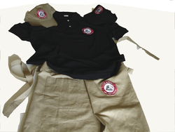 Dress LOS ANDES-LOS ANDES dress with the logo - caps, T-shirt apron etc.