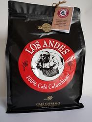 Caffee LOS ANDES 100% Colombian Coffee 100% Arabica 1kgs BEANS - Caffee from Columbia b LOS ANDES/b  100% Arábica  - Gourmet ! Single - Origin : San Agustin, Huila